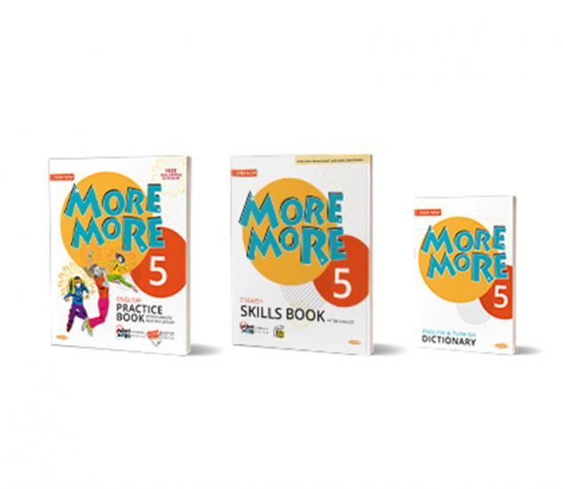 NEW More&More English 5 Practice Book (Skills Book + Dictionary)
